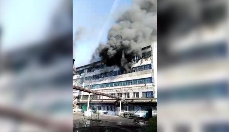 Женщина погибла при пожаре на углеобогатительной фабрике в Кузбассе