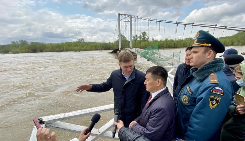 Власти Хакасии выделили более 7 млн рублей пострадавшим от паводка