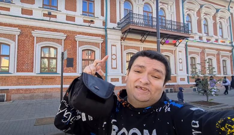 Популярный треш-блогер Руслан Гительман переехал в Красноярск