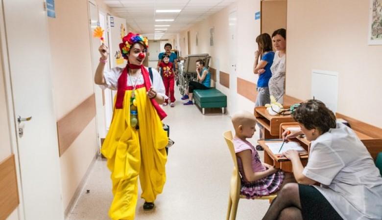 В Омске начал действовать проект «Больничные клоуны»