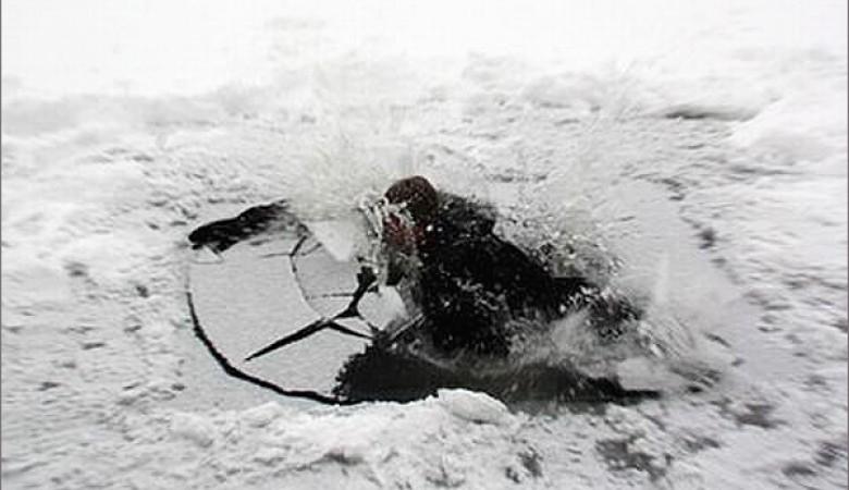 В Иркутской области трое детей провалились под лед