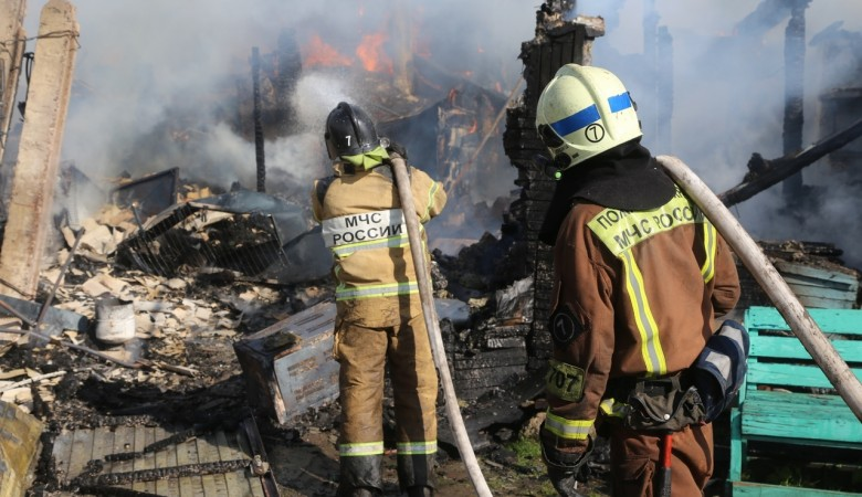 В Красноярском крае назвали причину пожара с тремя погибшими
