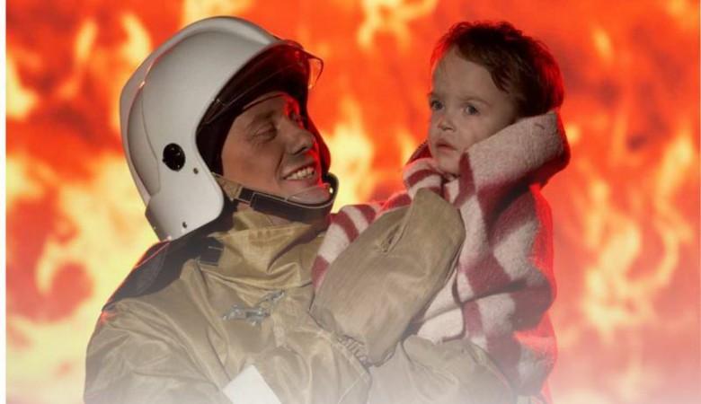 Пожар в Кузбассе: эвакуированы 17 человек, спасен ребенок