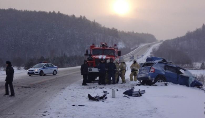 Крупное ДТП под Новосибирском: один погиб, четверо ранены
