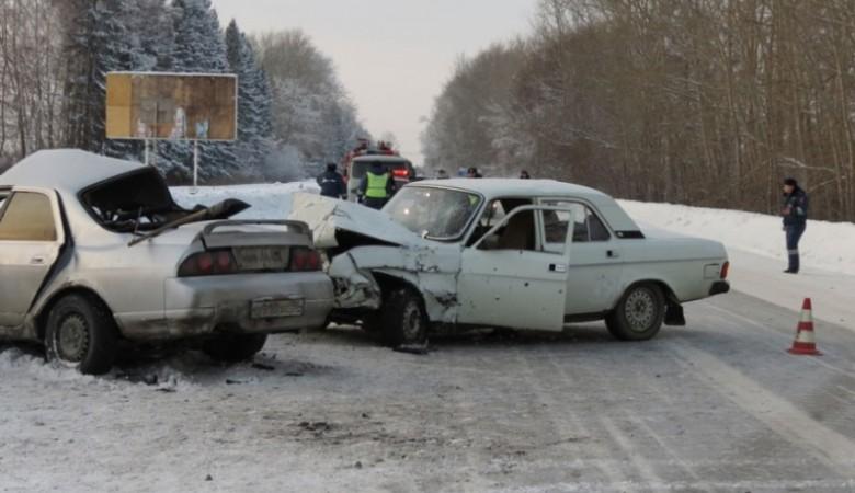 Трехлетний мальчик погиб в ДТП в Новосибирской области