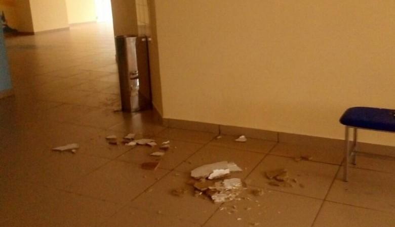 Новая школа под Иркутском за 1 млрд рублей не выдержала испытание ливнем