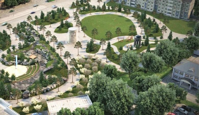 План строительства сквера памяти жертв