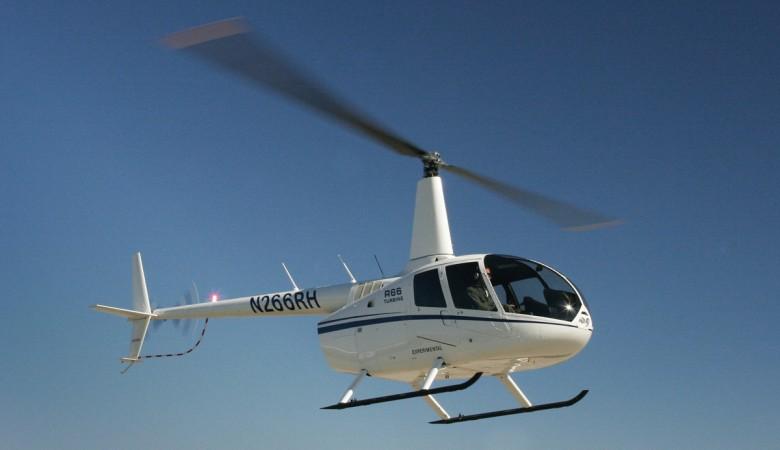 Вертолет совершил жесткую посадку в Алтае, двое пострадали