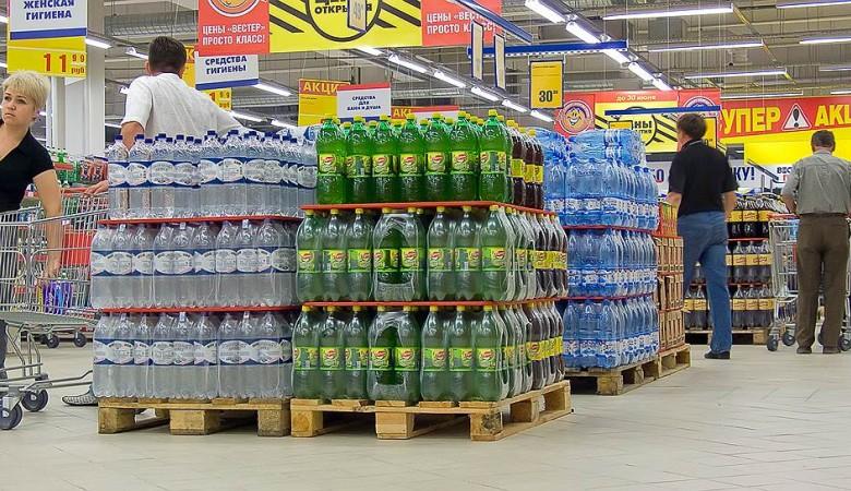 В Забайкалье, где введен режим ЧС из-за паводка, задрали цены на питьевую воду